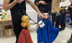 Predavanje Vanje Gvozdića – Osnove animacije Tuchmarionette i Kopf-Schulter-Marionette