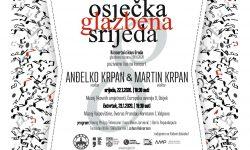 Osječka glazbena srijeda – koncert Anđelka i Martina Krpana