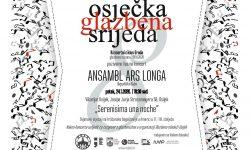 Osječka glazbena srijeda – Koncert anslambla Ars Longa (Kuba)