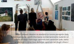 Mirela Blažević, studentica – Erasmus+ mobilnost u poljskom Gdansku