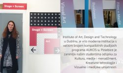 izv. prof. dr. art. Jasmina Pacek – Erasmus+ na Institute of Art, Design and Technology Dublin, Irska
