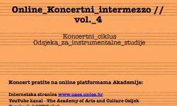 Online Koncertni intermezzo #4