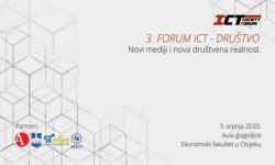 3. forumICT i društvo –Novi mediji i nova društvena realnost