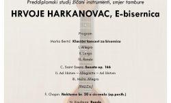 Hrvoje Harkanovac E – bisernica, završni koncert