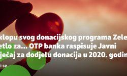 Javni natječaj za dodjelu donacija – OTP banka