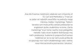 doc. dr. sc. Iva Buljubašić – Erasmus+ na University of SS. Cyril and Methodius in Trnava, Slovačka