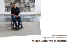 Antonio Rendulić, magistar edukacije Likovne kulture
