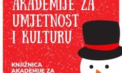 Akcija Božićnog darivanja Akademije za umjetnost i kulturu
