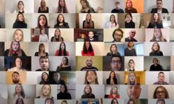Glaz-B-Os 2020 – Akademski pjevački zbor Akademije za umjetnost i kulturu u Osijeku: O Christmas Tree