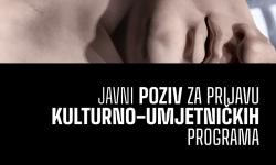 Javni poziv za društveno-kulturne i umjetničke programe 2021.