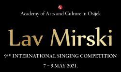 Međunarodno pjevačko natjecanje Lav Mirski 2021.