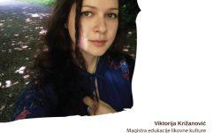 Viktorija Križanović, magistra edukacije likovne kulture