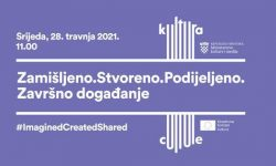 Svečano događanje Deska Kreativne Europe – ured Kultura Hrvatska pod nazivom Zamišljeno.Stvoreno.Podijeljeno.