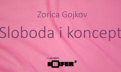 "Izložba ""Sloboda i koncept"" Zorice Gojkov u Galeriji Knifer"
